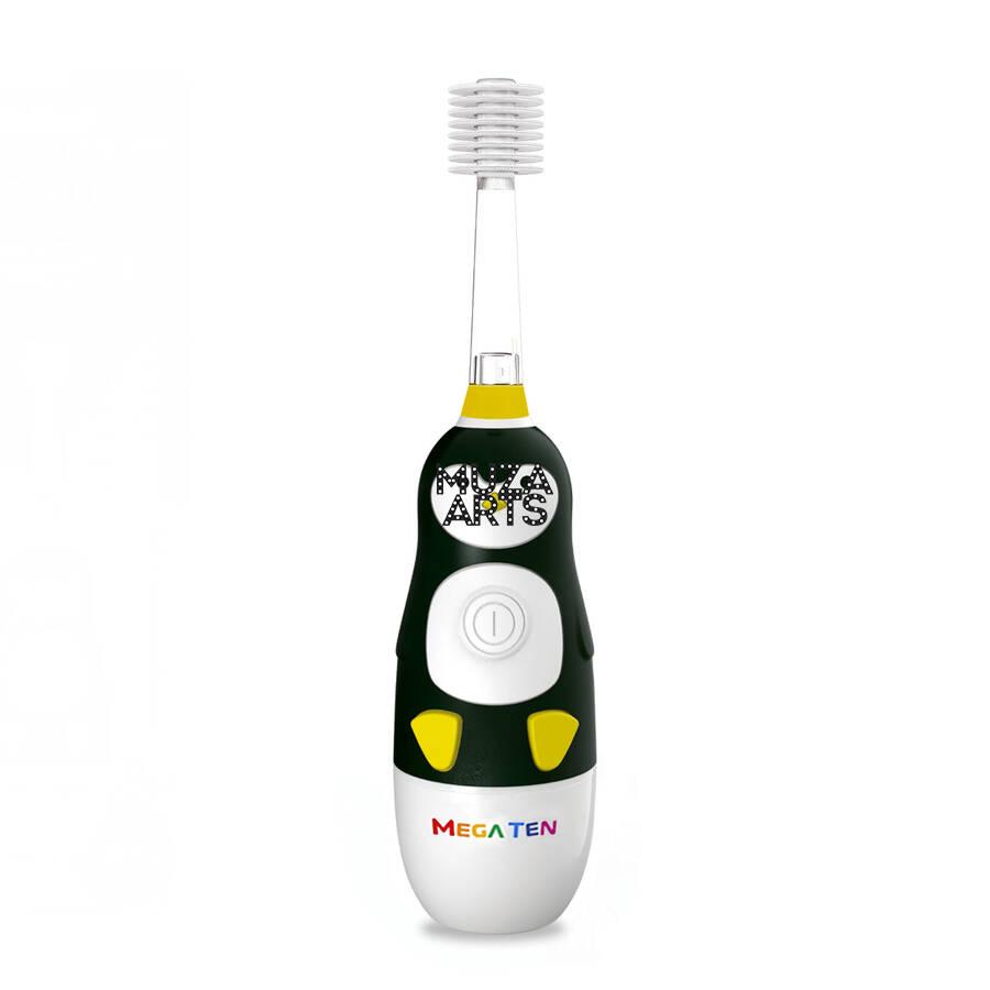 Детская электрическая зубная щетка MegaTen Kids Sonic   Пингвин