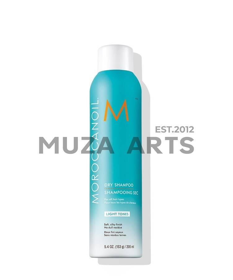 Сухой шампунь для светлых волос Moroccanoil